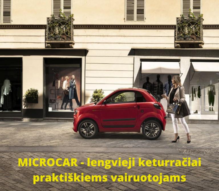 Microcar Lietuvoje